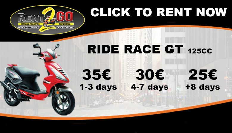 RIDE RACE GT 125CC