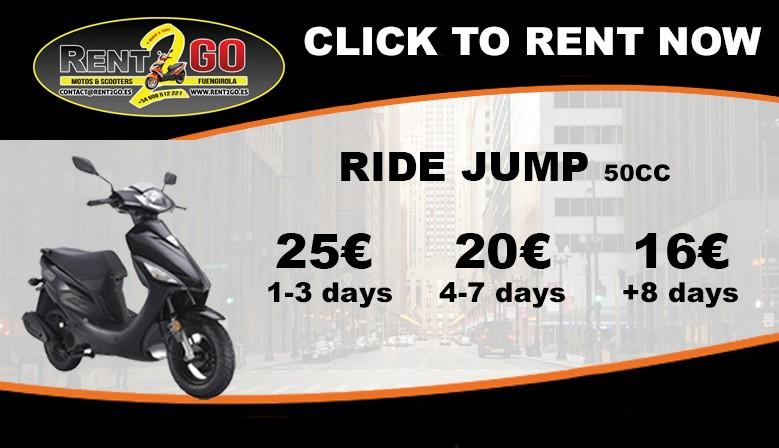 RIDE JUMP 50CC